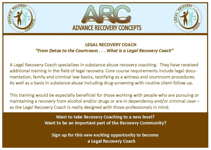 legal recovery coach